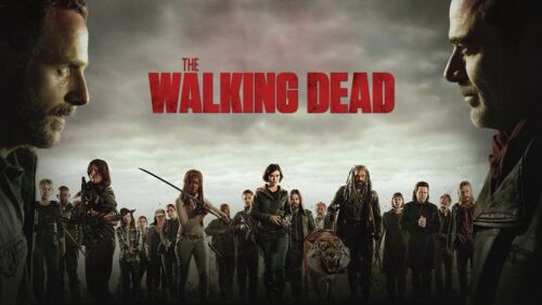 Details about  /the walking dead crue canvas wall art Wood Framed Ready to Hang XXL