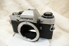Olympus OM-10 near condition see pictures great 35mm SLR Film Camera Body ref112