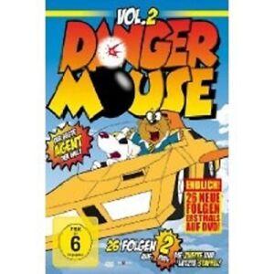 """DANGER MOUSE """"VOL 2 DIE 2. STAFFEL"""" 2 DVD TV SERIE NEU"""