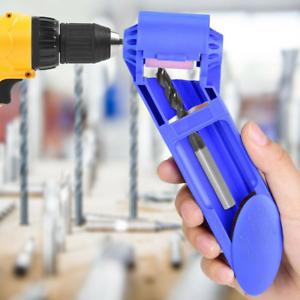 Portable Corundum Grinding Wheel Drill Bit Sharpener Drill Power Polish Tool US