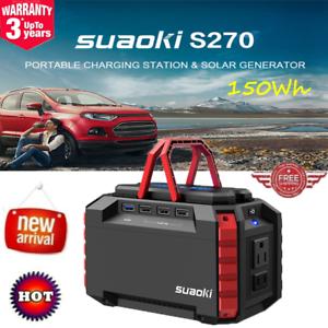 SUAOKI-S270-150Wh-Generador-Portatil-Solar-Cargador-De-Bateria-Power-Bank-USB