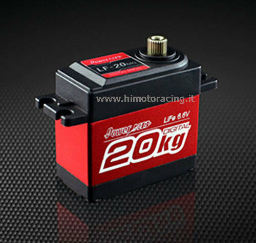 SERVO DIGITALE LIFE 6.6V 20Kg Power HD LF-20MG CON INGRANAGGI IN ALLUMINIO