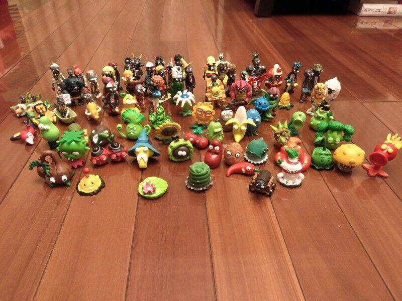80ps/set Nuovo Plants vs. Zombies 2 dolls Anime action figure pvz PVC Kids Gift
