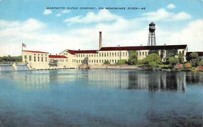 Neenah Great water power Wisconsin     Vintage   1911   Postcard