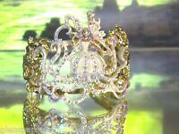 Kirks Folly Trinity Maiden Sea Fairy Cuff (goldtone)