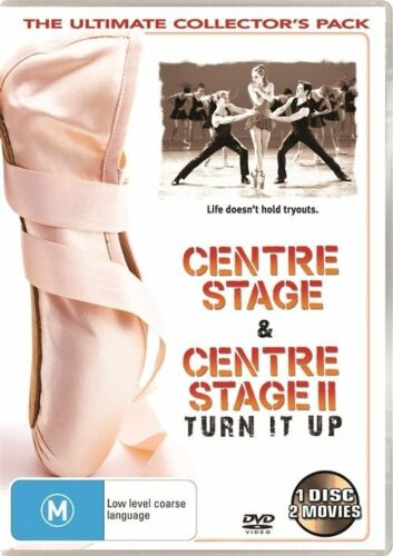 1 of 1 - LIKE NEW Centre Stage & Centre Stage 2 - Turn It Up DVD R4 FREE PRIORITY POST,