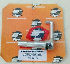 ENDURO ENGINEERING FRONT AXLE PULL - PT#23-053 Free Post