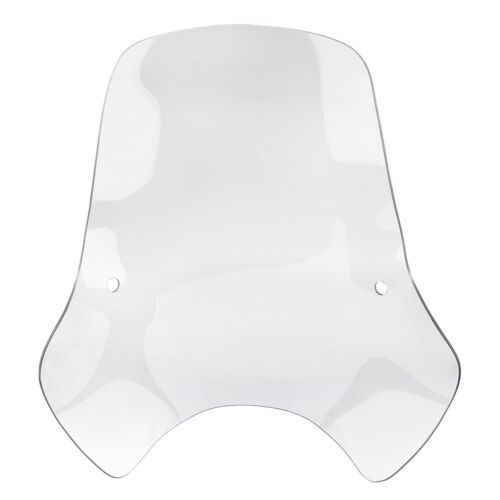 "Universal Windshield Windscreen Fits 7//8/"" 1/"" Handlebar Mount Motorcycle Harley"