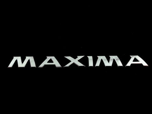 MAXIMA FIT NISSAN REAR TRUNK EMBLEM NAMEPLATE BADGE DECAL LETTERS NAME 2012-2018