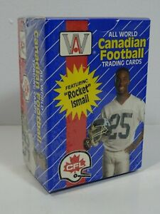 1991-ALL-WORLD-CANADIAN-FOOTBALL-TRADING-CARDS-FACTORY-SEALED-110-CARD-SET-CFL