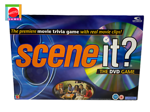 SCENE-IT-The-DVD-Game-by-Mattel-Games-The-Movie-Trivia-Game-Complete