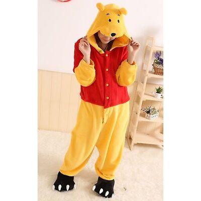 Winnie the pooh personajes Pijama Completo Unisex Disfraz Sudaderas pijama