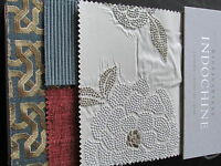 Barbara Barry Kravet Collections Fabric Swatch Sample Book Indochine Lacquer