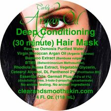 Hair Mask Deep Conditioning 30 Minute With Real Virgin Argan Oil