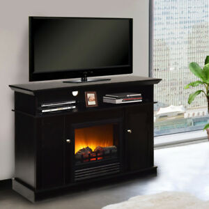 Our stylish fireplace TV stand can perfectly make you indulging in the ambiance of warmness and sweetness for it decorates your home as a cozy and comfortable space. It can surely win your applause for its beauty and practicability. | eBay!