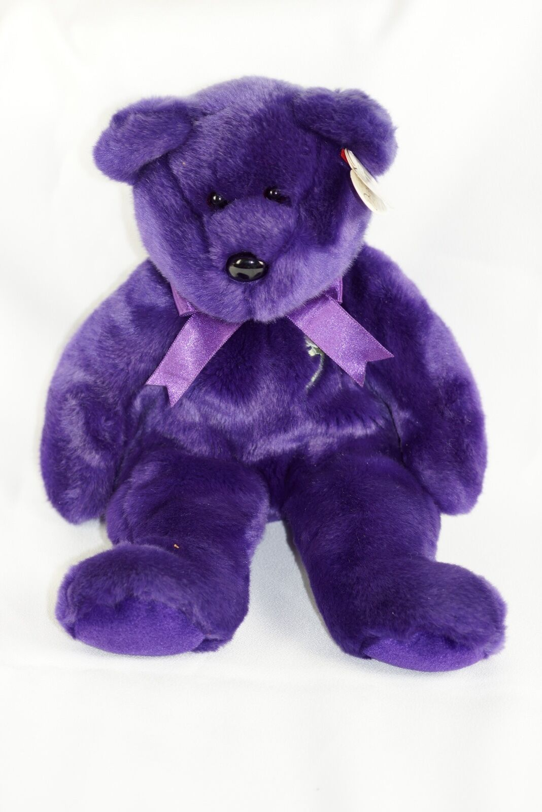 Ty Beanie Buddy PRINCESS DIANA 1998 Bear w  Tag Plush Toy RARE NEW RETIRED