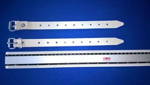 Aufrollriemen Strippe 2 x Schnallriemen mit geschweißter Rollschnalle 300mm