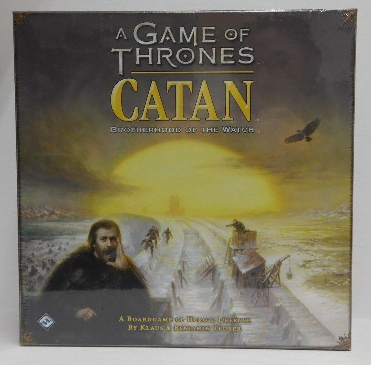 A Game of Thrones Catan Brougeherhood of the Watch-Fantasy Figure Gallery Board Game-Neuf
