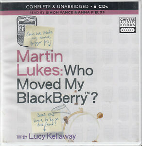 Martin-Lukes-Who-Moved-My-Blackberry-6CD-Audio-Book-Unabridged-Humour-FASTPOST