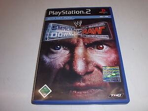 PlayStation-2-PS2-WWE-Smackdown-vs-Raw-von-THQ-Entertainment-GmbH