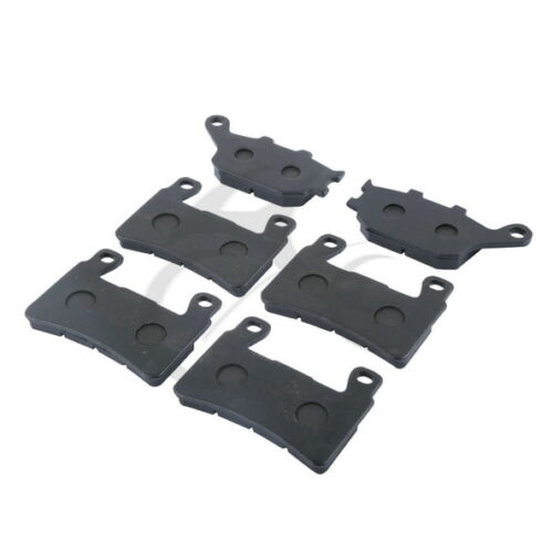 FRONT REAR MOTORCYCLE BRAKE PADS Fit For Honda CBR 600 F4 F4i Sport 1999-2004