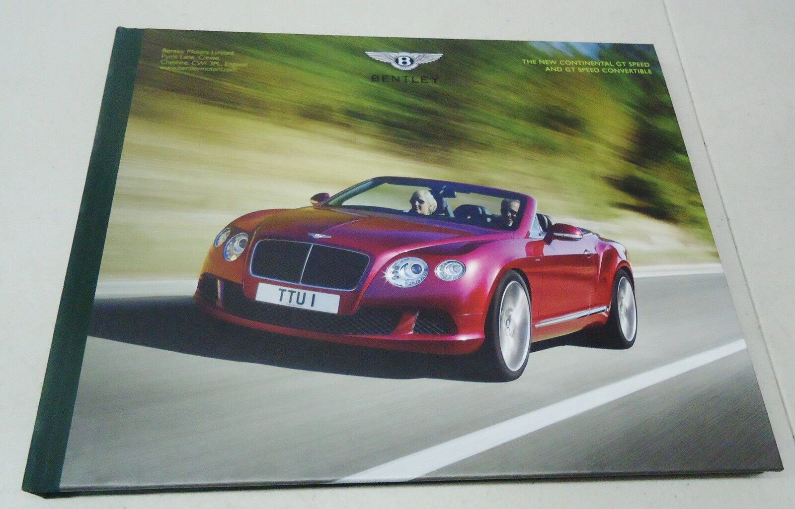 Pleasant Bentley The Continental Gt Speed And Gt Speed Congreenible Dealer Wiring Digital Resources Skatpmognl