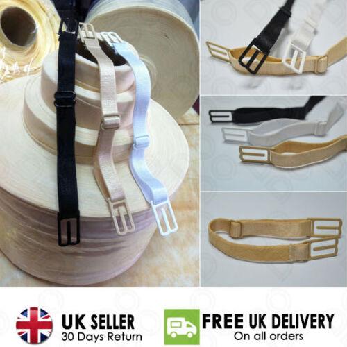 Nonslip Elastic Adjustable Band Bra Strap Holder Strap Racer Back Clip for Women