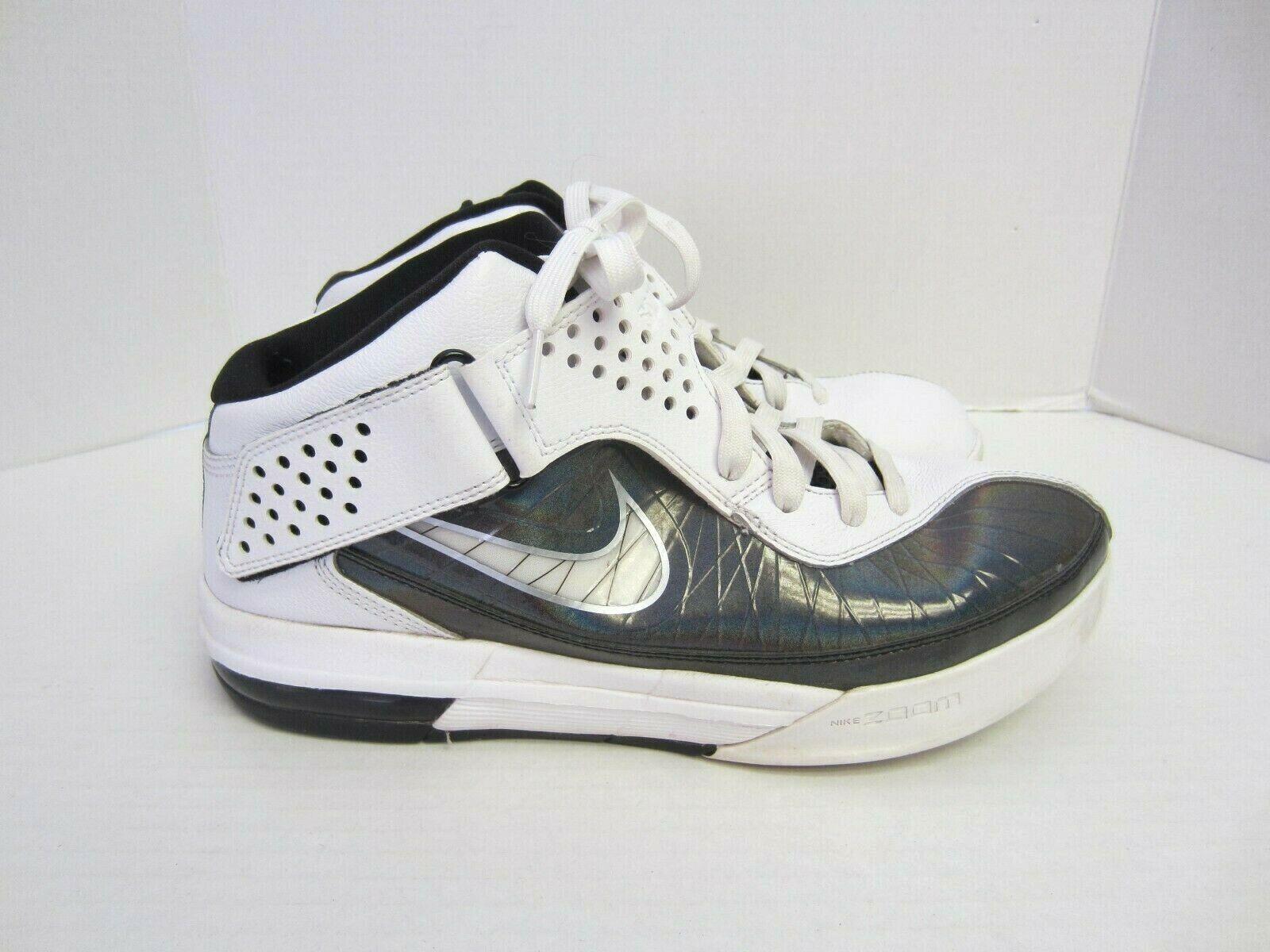Nike Air Max Zoom shoes 11 LeBron SLDR V Basketball White Silver Mens q