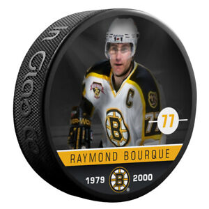 Ray-Bourque-Boston-Bruins-NHL-Alumni-Photo-Hockey-Puck