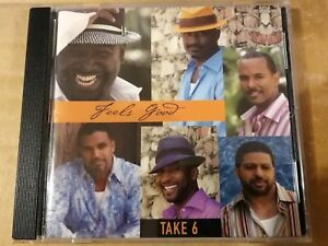 TAKE 6. ---    FEELS GOOD.    --   RARE INDIE R&B  CD