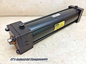 Parker-3-1-4-034-bore-X-13-034-stroke-pneumatic-cylinder-side-mount