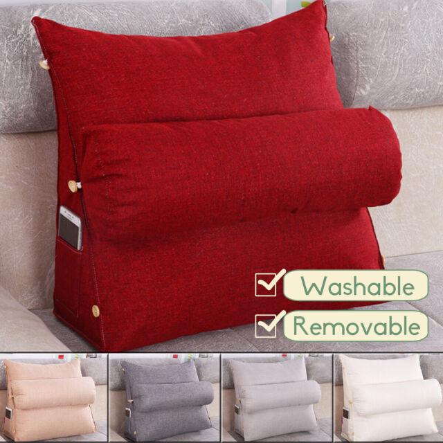 Enjoyable Adjustable Back Wedge Cushion Sofa Pillow Bed Office Chair Rest Neck Support Inzonedesignstudio Interior Chair Design Inzonedesignstudiocom