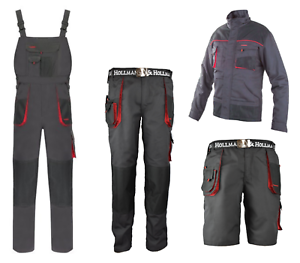 Work-Trousers-Shorts-Overalls-Jacket-Waistcoat-Profession-Safety