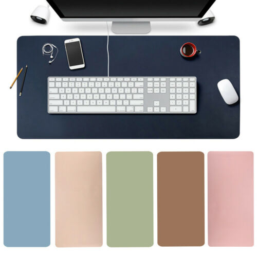 Computer Desk Mat Keyboard Mouse Pad Home Office Large Soft Solid Color hot