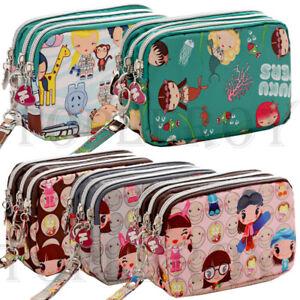 Waterproof-Wristlet-Case-Handbag-Clutch-Cosmetic-Makeup-Bag-Phone-Purse-Wallets