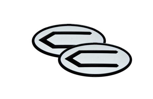 3D Concepto Emblem Badge BWB Set 2pc Fit: KIA 2010-2016 SOUL