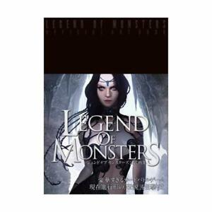 LEGEND-OF-MONSTERS-Official-Art-Book-Japanese-Edition-JE