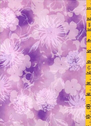 NEW Cotton Quilting Sewing  Fabric Kaufman Pink Floral Tonal Spring Mimosa