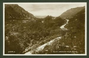 Argyll-and-Bute-Glen-Masson-near-the-Falls-Valentine-039-s-Real-Photo-Postcard