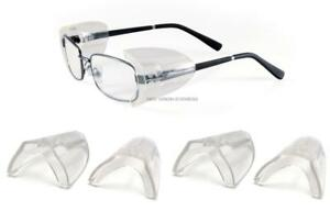 205c691c350 3 Pair Pyramex SS100 Flexible Clear Side Shield For Safety Glasses ...