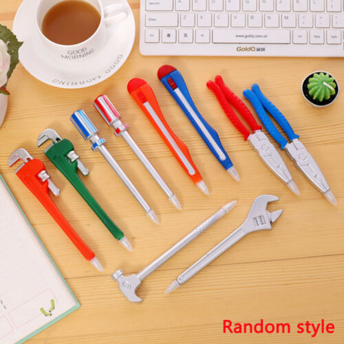 Fun Wrench Tool Ballpoint Pen Novelty School Office Gift Kid Toy Cute Stationery