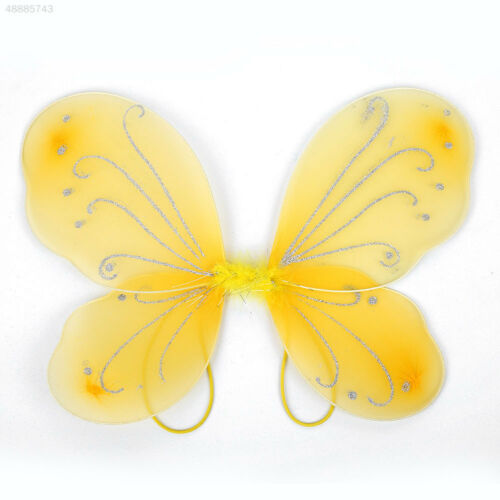 6F9D Adult Butterfly Wings Fairy Dress Up Costume Gift Photo Props Decor 3C5A