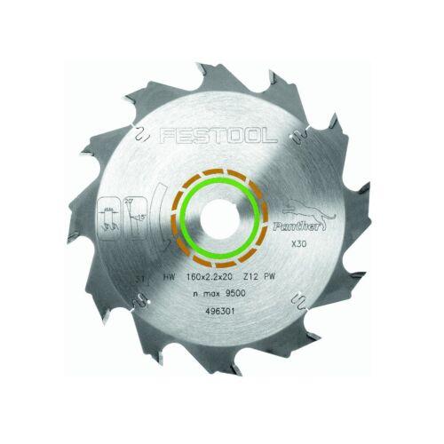 Festool panther scie 160 x 2,2 x 20 mm pw12 Nº 496301 pour ts tsc ATF AP 55