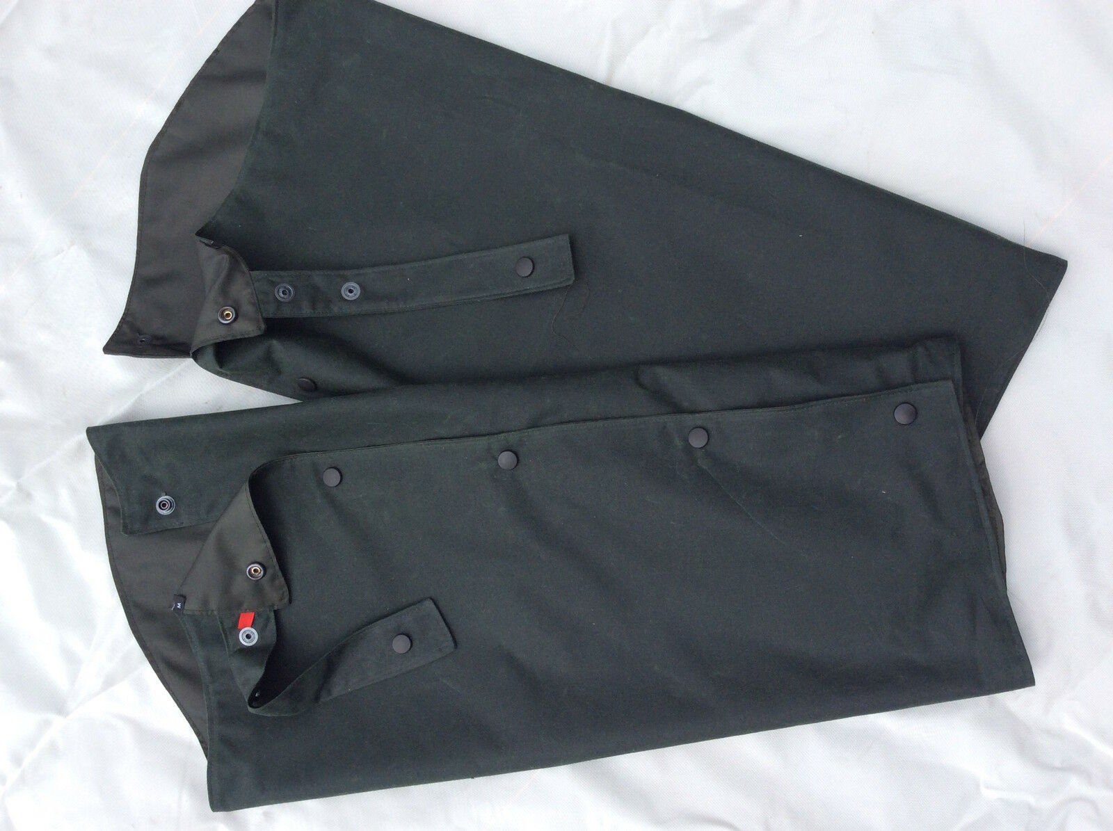 Thornproof Wax Cotton Chaps, Waxed Professional for Leggings Shooting Beating