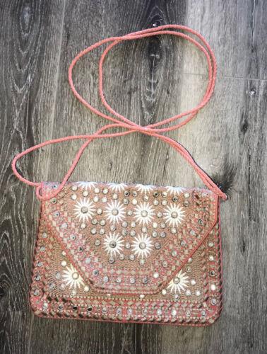 leren Nwt Boho Antik Festival Bag Clutch BatikKatoenen Wallet taselise rBoxWdQeC