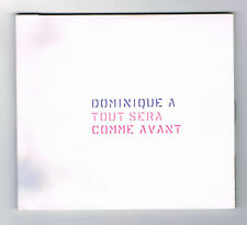 DOMINIQUE A - TOUT SERA COMME AVANT - 2 CD - 28 TITRES - 2012 - COMME NEUF