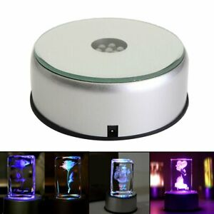 4inch-Display-Stand-360-Rotating-Turntable-7-Colored-LED-Light-Crystal-Base