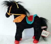 Douglas The Cuddle Toy Plush Gypsy The Black Sparkle Horse - New With Tags