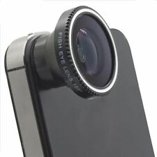 Magnetic Wide 180°Detachable Fish Eye Lens for CellPhone iPhone 4 4G 4S Black