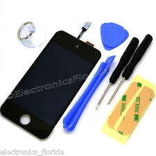 iPod Touch 4th Gen LCD Screen Replacement Digitizer Glass Assembly black tools